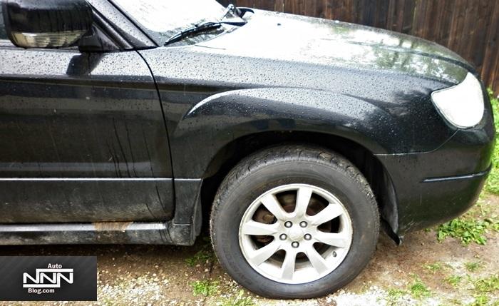 Schimbare busca brat fata si pivot Subaru Forester
