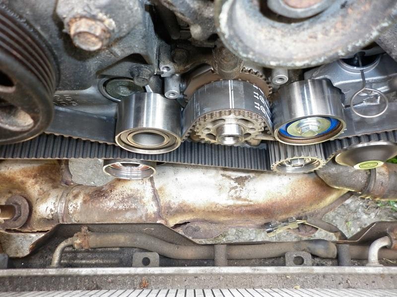 tutorial schimbare kit distributie Subaru Foreste 2.5 165 CP