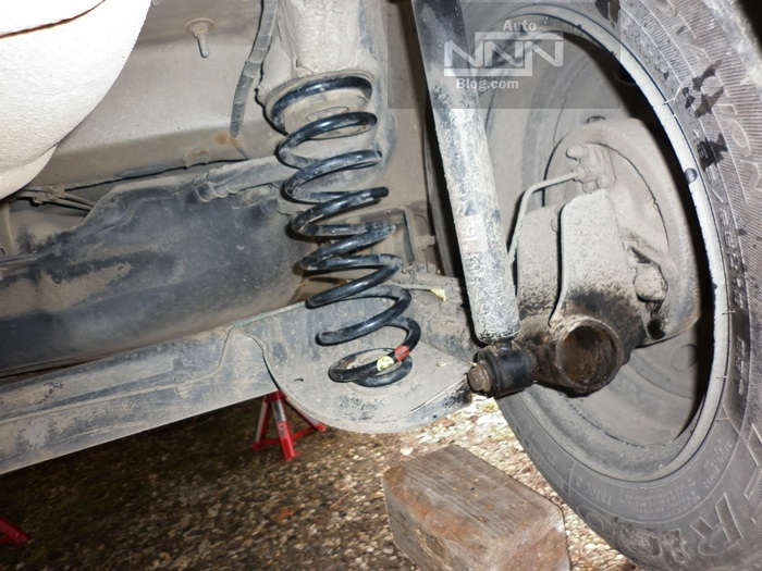 schimbare arcuri spate Dacia Logan 1