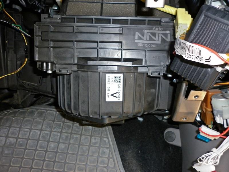 Tutorial schimbare filtru polen (habitaclu) Subaru Forester