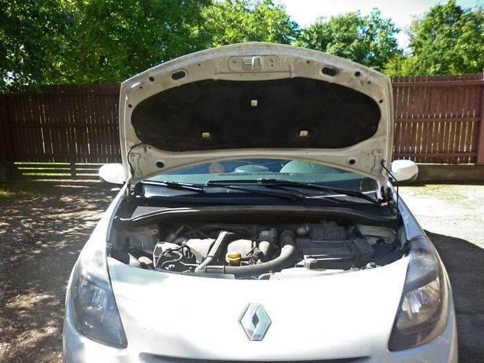 tutorial schimbare bec faza scurta Renault Clio 3 1