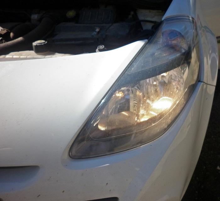 tutorial schimbare bec faza scurta Renault Clio 3 9