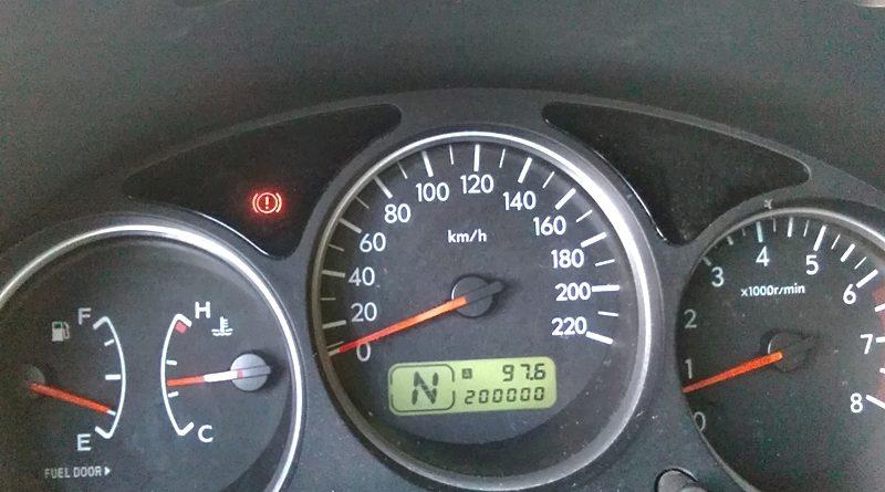 Subaru Forester--200.000km si 9 ani