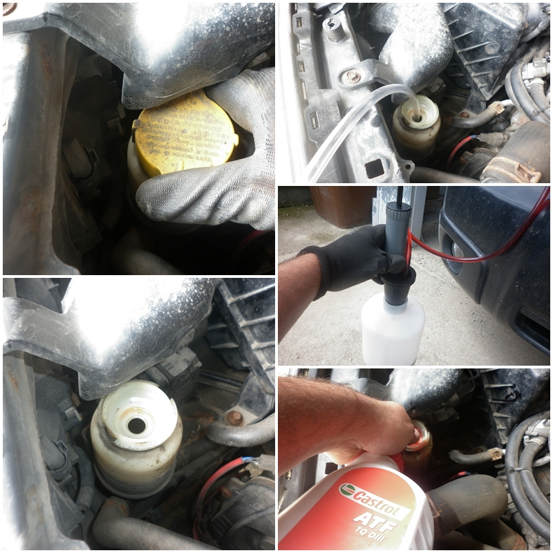 Schimbare improspatare lichid servodirectie Subaru Forester1