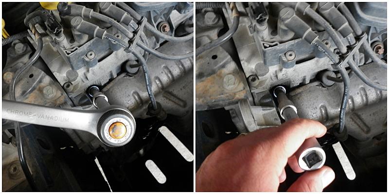 Schimbare bujii Dacia Logan 1,4/1,8 8V 4