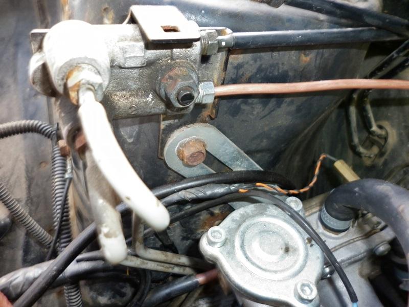 schimbare conducte de frana la Subaru Forester 3