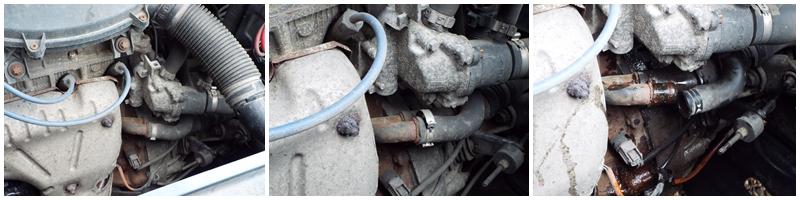 Schimbare radiator incalzire Dacia Logan C1