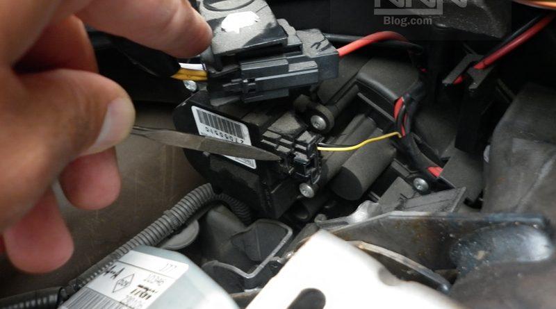 Schimbare motoras comanda clapeta recirculare aer Renault Modus