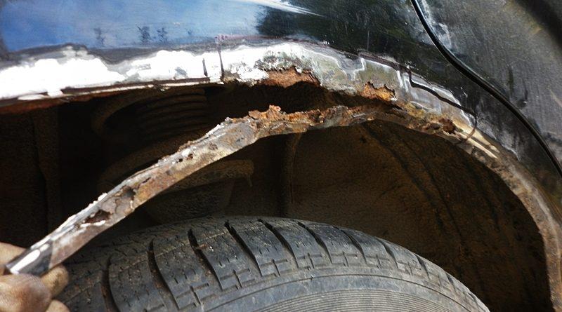 Subaru Forester. Indepartare rugina si sudura chimica