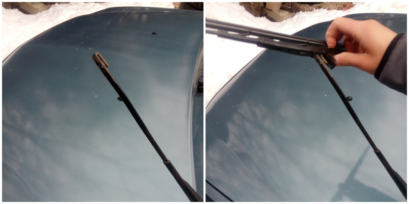 Cum se schimba lamelele stergatoarelor la Dacia Logan C3