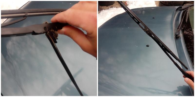 Cum se schimba lamelele stergatoarelor la Dacia Logan C4