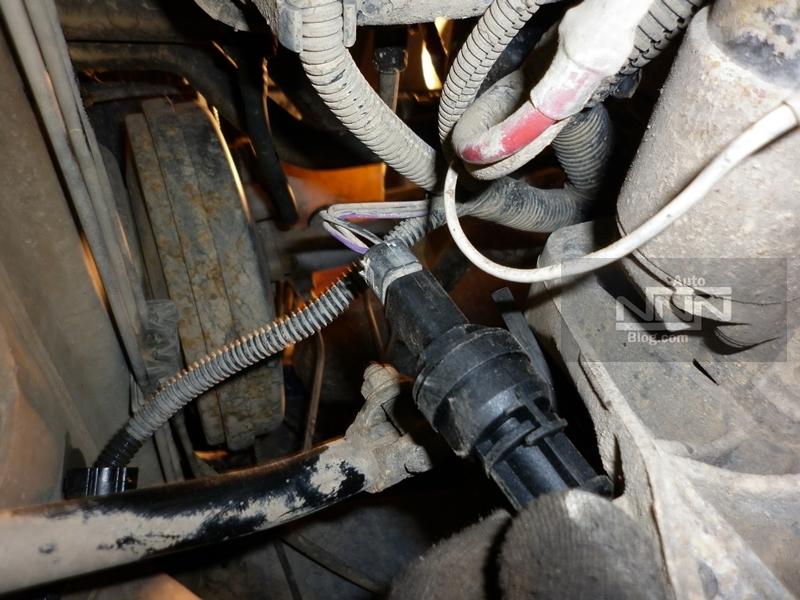 cum se schimba captorul (senzorul) de viteza la Dacia Logan I 1,4 MPI 03