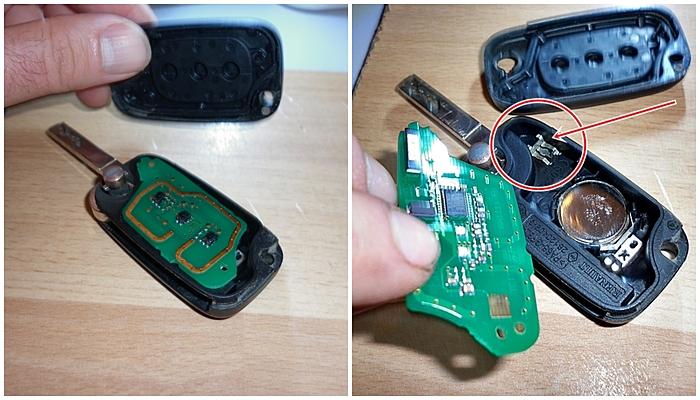 Reparatie telecomanda cheie Renault Modus III- C2