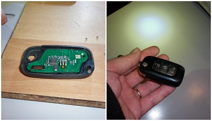Reparatie telecomanda cheie Renault Modus III- C3