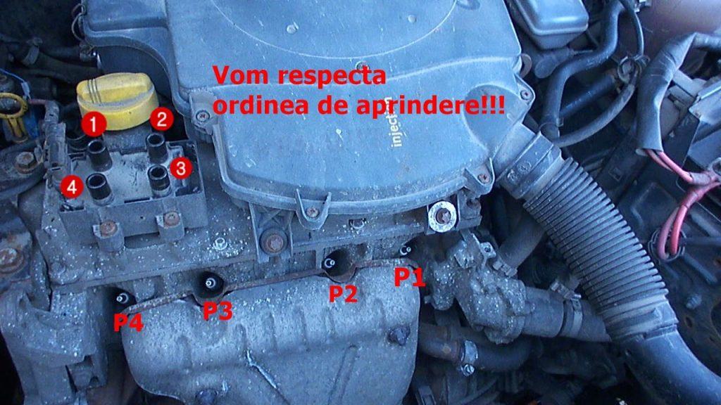 Tutorial scimbare fise bujii Dacia Logan 1,4 MPI Ordinea de aprindere
