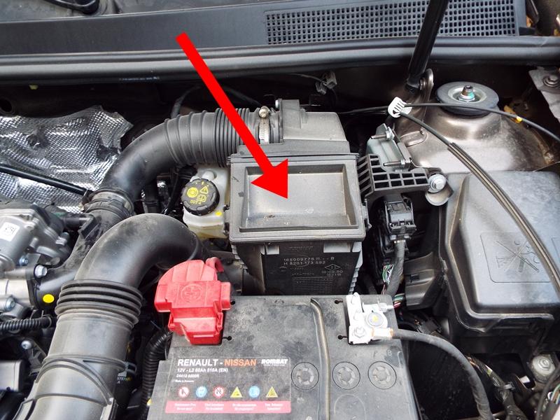 Schimbare filtru de aer Dacia Logan II 1.0 Sce 1