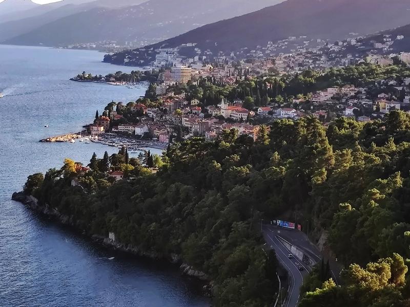 Cu Loganul in Croatia-Opatija